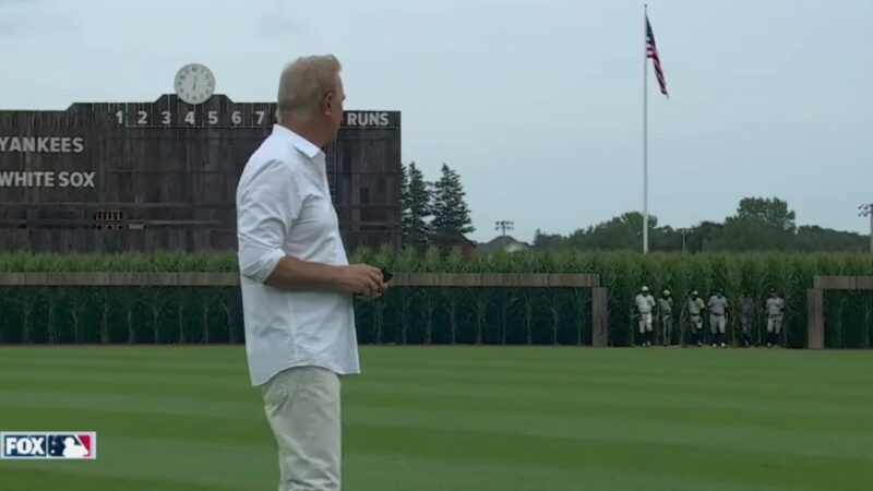 Is This Heaven? Kevin Costner Hosts Real Baseball Game at 'Field of Dreams' Site –And it's Perfect