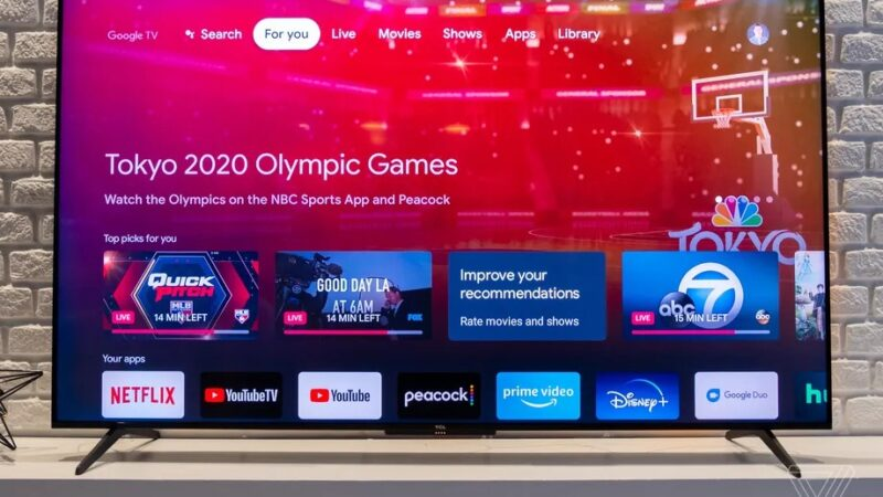 TCL announces new 6-series and 5-series TVs that come with Google TV instead of Roku